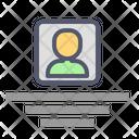 Center Post Biodata Icon
