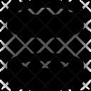Center Elements Coding Icon