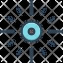 Center Focus Core Icon
