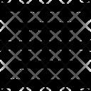 Center Center Alignment Center Text Icon