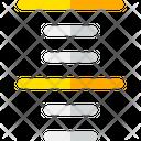 Center Align Text Icon