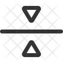 Center Point Horizontal Icon