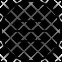 Center Position Align Icon