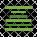 Center Align Alignment Icon