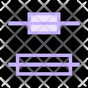 Center Alignment Text Icon