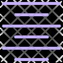 Align Center Text Icon