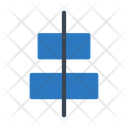 Center Alignment Icon