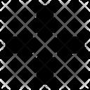 Center Arrow Icon