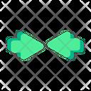 Center Pointer Arrow Icon