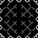 Border Center Vertical Icon