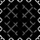 Center Vertical Border Icon