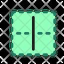 Vertical Border Cell Icon