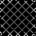 Center Centroid Triangle Icon