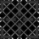 Center Grid Illustration Icon