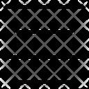 Center Text Icon