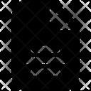 Center Text Center Text Icon