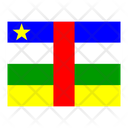 Central African Republic Flag Flags Icon