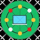 Central Computer Computer Network Local Area Network Icon