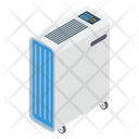 Central Heating System Heating Fan Fan Heater Icon