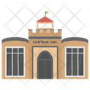 Central Jail Prisoner Place Jail Icon