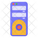 Computer Tower Cpu Central Processing Unit Icon