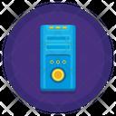 Central Processing Unit Cpu Computer Case Icon
