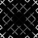 Centralization Centralized Inside Icon