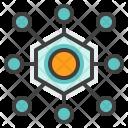 Centralize Network Data Icon