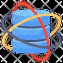 Centralized Database Database Network Big Data Icon