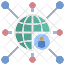 Centralized Influencer Decentralization Icon