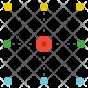 Centre Center Connect Icon