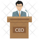 Ceo Business Businessman Icon
