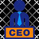 Executive Boss Ceo Icon