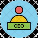 Ceo Chief Executive Icon