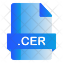 Cer Extension File Icon