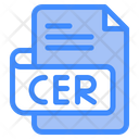 Cer Document File Icon