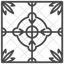 Ceramic Tiles Ornament Icon