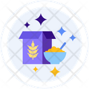Cereal Meal Nutrition Icon
