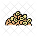 Cereal Pile Color Icon