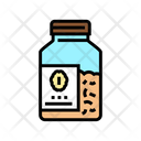 Bottle Oat Cereal Icon