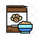 Cereals Oat Package Icon