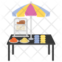 Cereal Stall Food Stall Street Stall Icon
