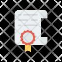 Certifcate Icon
