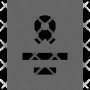 Certificate Document Merit Icon