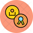 Certificate User Employee Icon