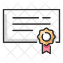 Patent Award Certificate Icon