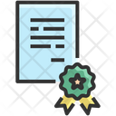 Certificate Award Reward Icon