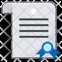 Certificate Patent Degree Icon