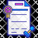 Award Achievement Certificate Icon