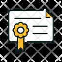 Certificate Rewardsvg Achievement Icon